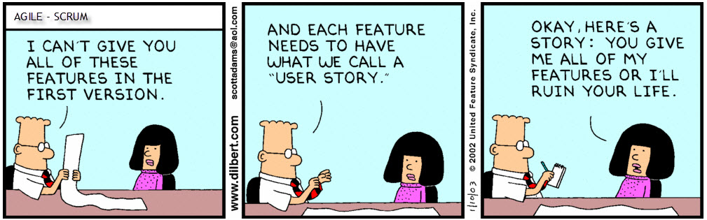 dilbert-userstories
